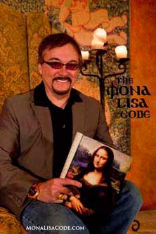 Scott Lund's Mona Lisa Code featured in Orange County Register arts magazine