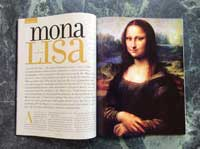 Mona Lisa Code magazine article.